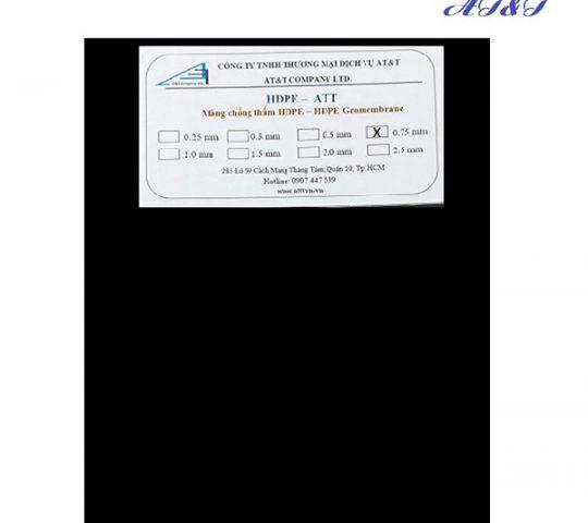 Bat HDPE 0.75